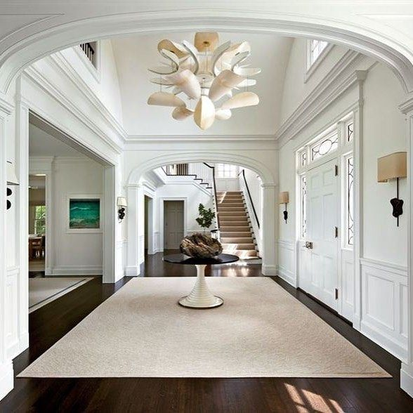 Grand Foyer Furniture : Best interiors lighting for void stairs front