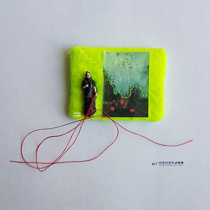 Oh holy night. minimass® TINY ART by Anne-Marie Ros .nl #27 is available - makes a great gift or just spoil yourself ;)
