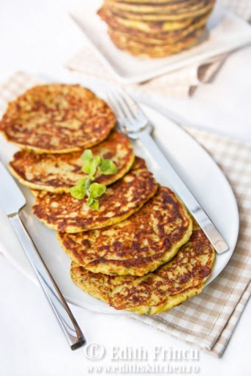 pancakes cu dovlecei