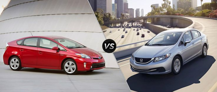 2016 Toyota Prius VS Honda Civic hybrid review - http://carsintrend.com/2016-toyota-prius-vs-honda-civic-hybrid-review/