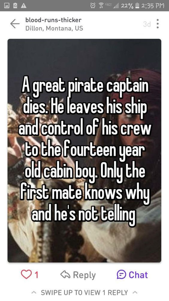 I'd probably write it not as his son, but he killed the cabin boy's parents and is doing it as a favor or something and everyone just thinks he's his son