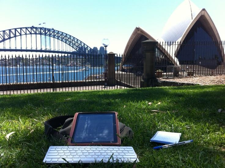 Hot-desking. Sydney remote office working.