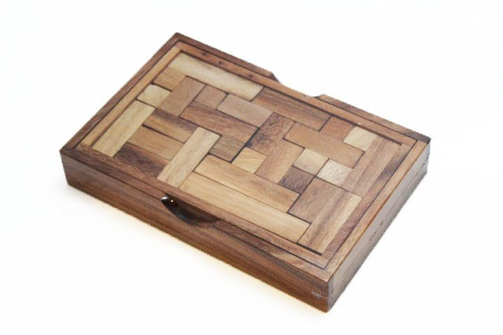 YASUMI Wooden Game Puzzle - Strategy Board Game, Brain Teaser - Travel Size, NEW #WoodenGamesToyshandmade