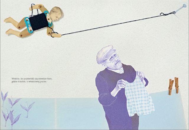 polska ilustracja dla dzieci: Zapowiedź - O tych, którzy się rozwijali