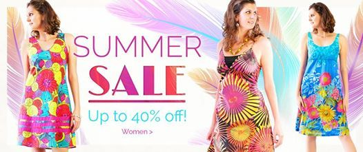 It's THE #fairtrade Summer SALE - Up to 40% off women's fashion!  Shop online at http://www.eternalcreation.com/  Prices as marked. Ends 06/01/15 or while stocks last.