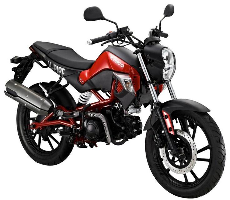 De nieuwe K-Pipe 50cc en 125cc