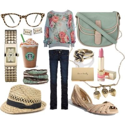 Oh MY! I want everything in this.: Floral Sweaters, Floral Prints, Dreams Closet, Clothing, Shoes Heavens, Soft Colors, Floral Shirts, Outfits Ideas, Bags