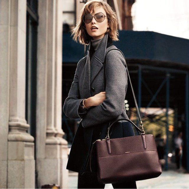 The Borough Bag in Pebbled Leather by Coach