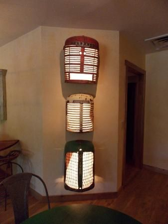 more tractor grill lights!