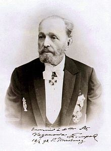 Marius Petipa is noted for his long career as Premier Maître de Ballet of the St. Petersburg Imperial Theatres, a position he held from 1871 until 1903. Petipa created over fifty ballets, some of which have survived in versions either faithful to, inspired by, or reconstructed from the original — The Pharaoh's Daughter (1862); Don Quixote (1869); La Bayadère (1877); Le Talisman (1889); The Sleeping Beauty (1890);  and The Nutcracker