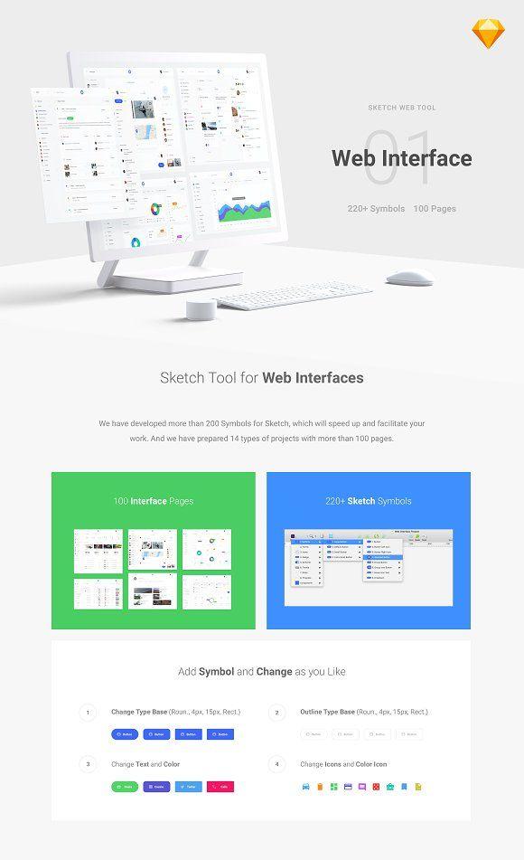 Web Interface 1 by Spline on @creativemarket