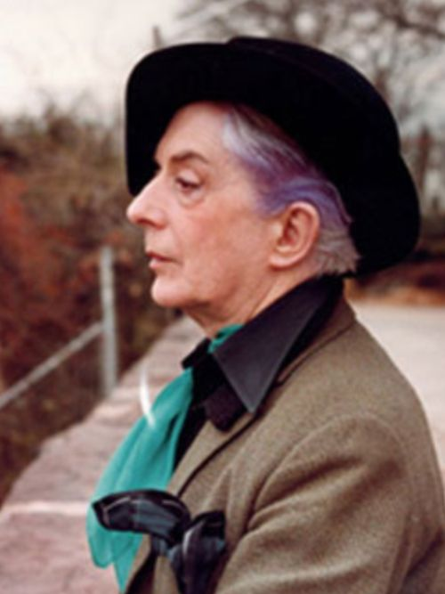 Quentin Crisp watch him on film if ever possible, one of the most amazing men ever born.