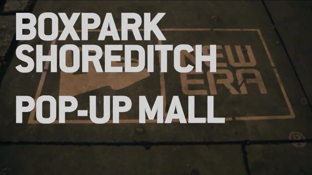 A guerrilla marketing viral to accompany the opening of New Era's Boxpark store in Shoreditch.    Video & Music by The Cornershop