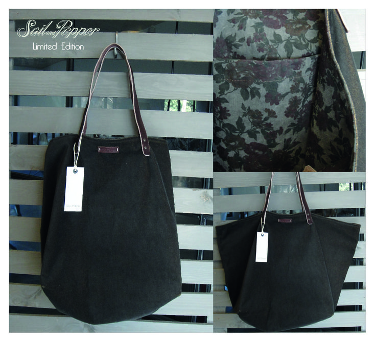 Limited Edition 8 reversible big bag Sail&Pepper bags