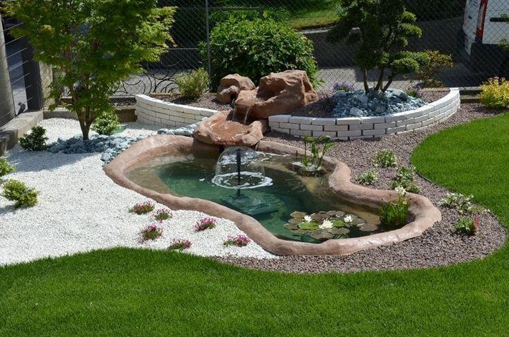 Oltre 25 fantastiche idee su laghetti da giardino su - Costruire laghetto giardino ...