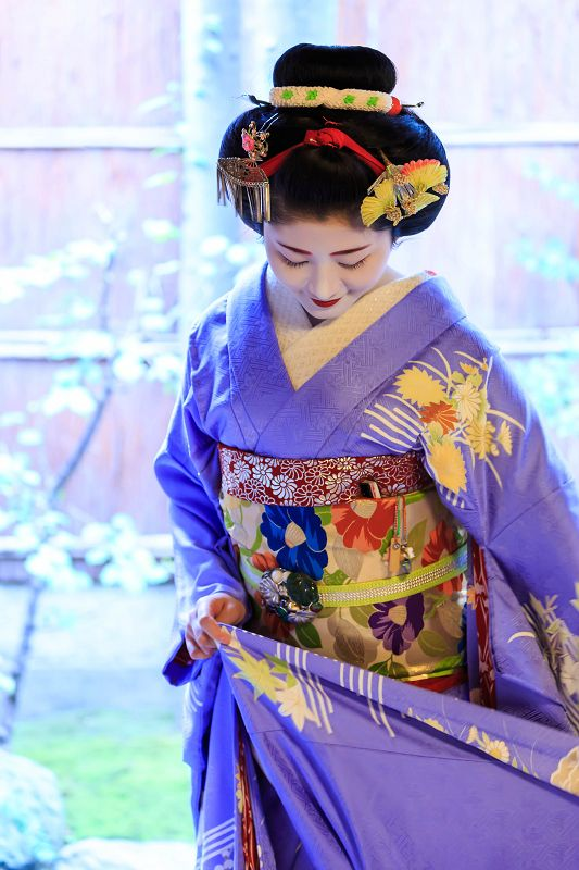 Maiko Satsuki 祝!三年連続 売花奨励賞一等賞(祇園甲部・紗月さん) : 花景色-K.W.C. PhotoBlog