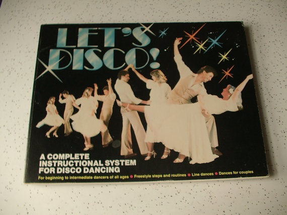 vintage 1970's dancing instruction book Let's by ShoponSherman, $12.00: Disco Ideas, Loved Disco, Cowboy Art, 1970S Dance, Dance Instruction, 1970 S Dancing, Dancing Instruction