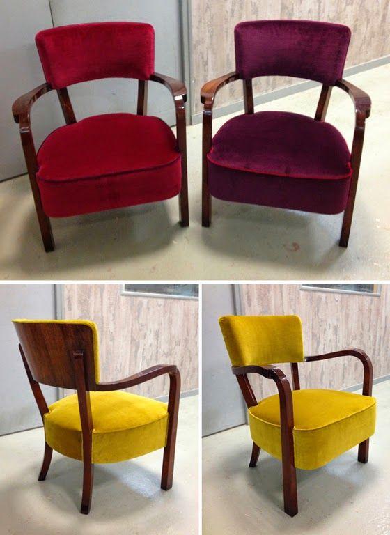 Les 25 meilleures id es concernant fauteuil bridge sur pinterest retapisser - Petit fauteuil de salon ...