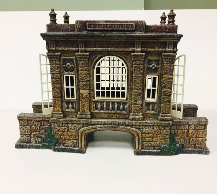 Dickens Village Covered Bridge At the Manor Department 56 by Purana on Etsy