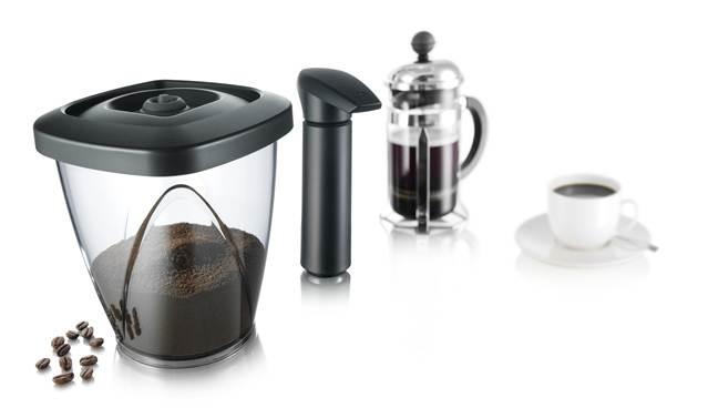 Voorraadpot koffie 1.30 liter ( incl Vacuumpomp)