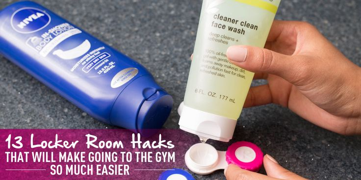 13 Locker Room Hacks That Will Make Going to the Gym So Much Easier - With these tips, there's really no excuse for skipping the gym.