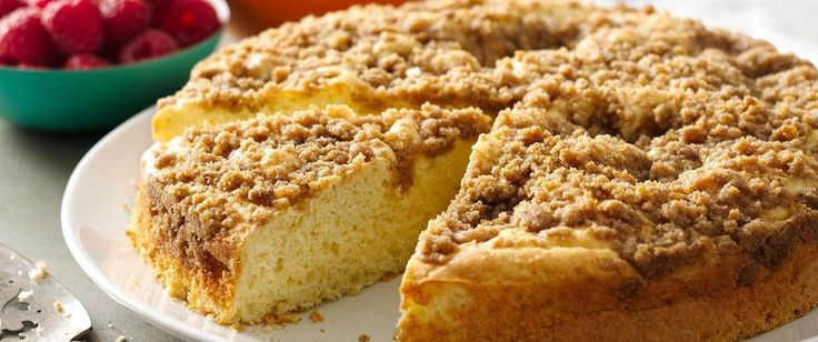 Gluten-Free Cinnamon Streusel Coffee Cake recipe from Betty Crocker