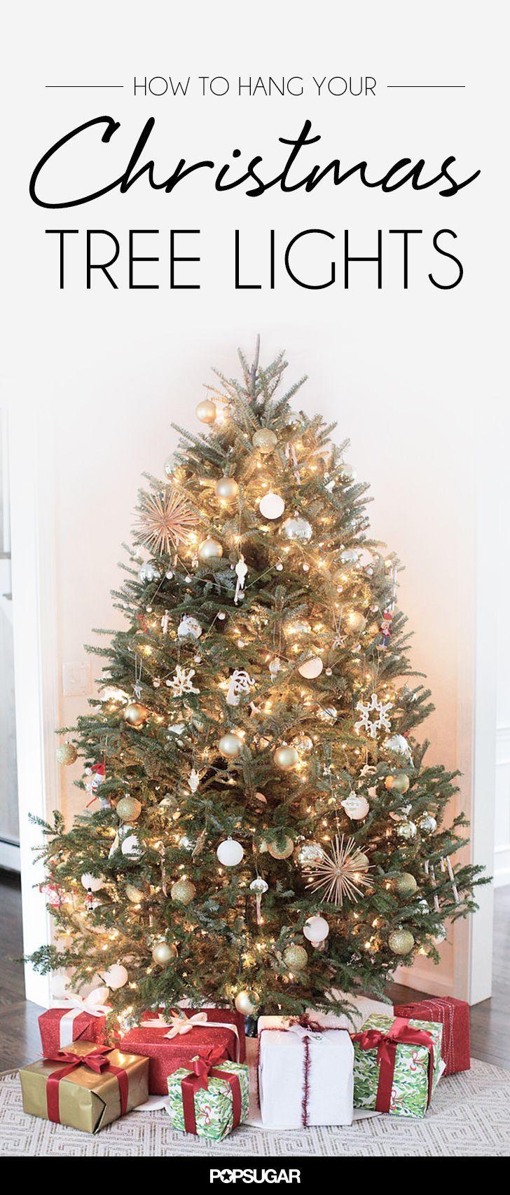 Christmas tree lighting tips - How To Hang Your Christmas Tree Lights