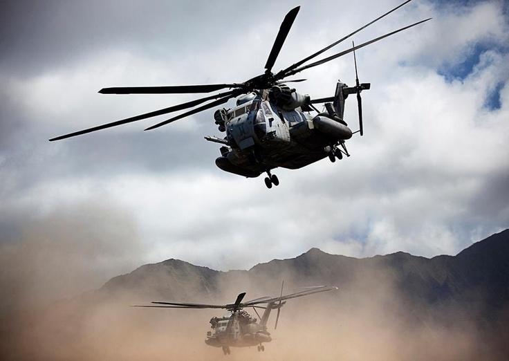 CH-53 E Super Stallion, USMC