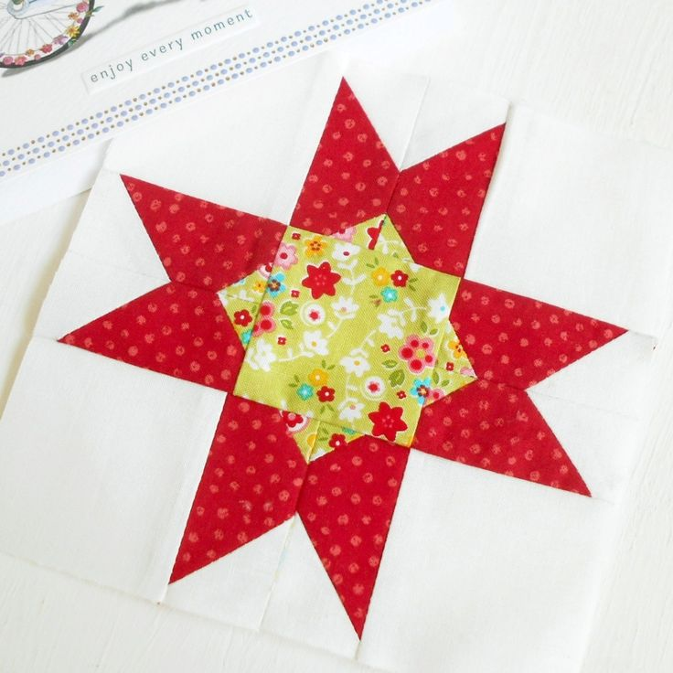 St Louis Star - another block pattern from the Patchsmith's Sampler book due out early 2018.