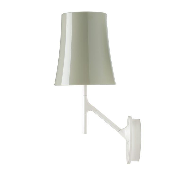 Birdie Vegglampe, Grå, Foscarini
