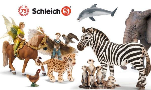 In this day & age of convenience and mass production Schleich remains a bastion of quality with hand painted durable animals and incredible detail. Come check out our ever expanding animal kingdom at the store today!