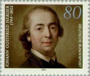 Door Herder wordt Goethe op de Scandinavische literatuur gewezen waardoor hij later het gedicht Erlkönig (elfenkoning) zal schrijven