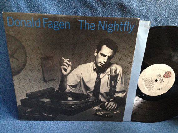 Vintage Donald Fagen  The Nightfly Vinyl LP by sweetleafvinyl