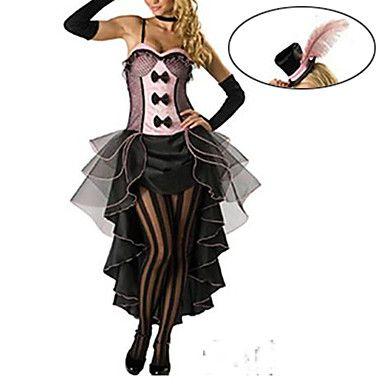 Théâtre Chanteuse en noir Deluxe robe des femmes de costume de Halloween – EUR € 32.99
