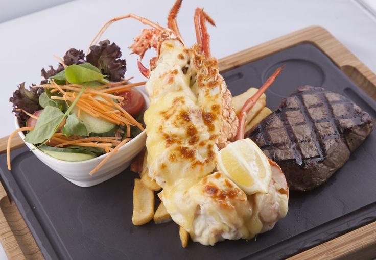 The Maze Lobster Monray & Steak!