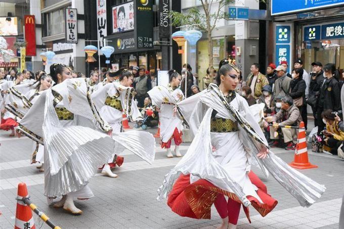 九州のよさこい踊り一堂に 復興願い、学生ら企画   #祭り #九州 #よさこい #Festival
