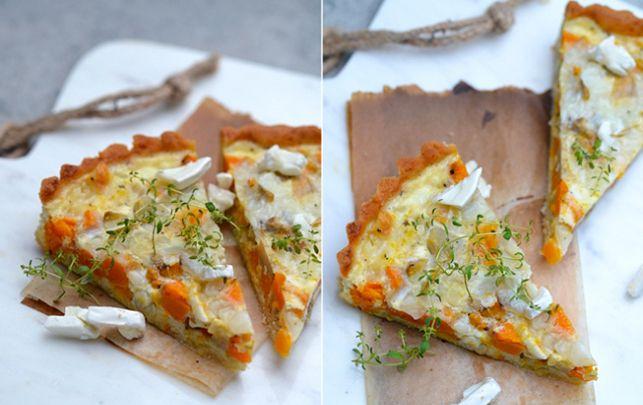 Opskrift på grøntsagstærte uden mel