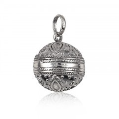 Silver fancy harmony ball