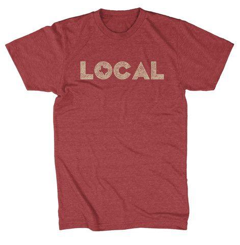 Local Texas T-shirt – Tumbleweed TexStyles