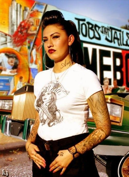 Some people think gang member, I think Mexican woman with an opinion!
