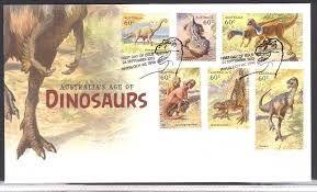 Výsledek obrázku pro známky s dinosaury