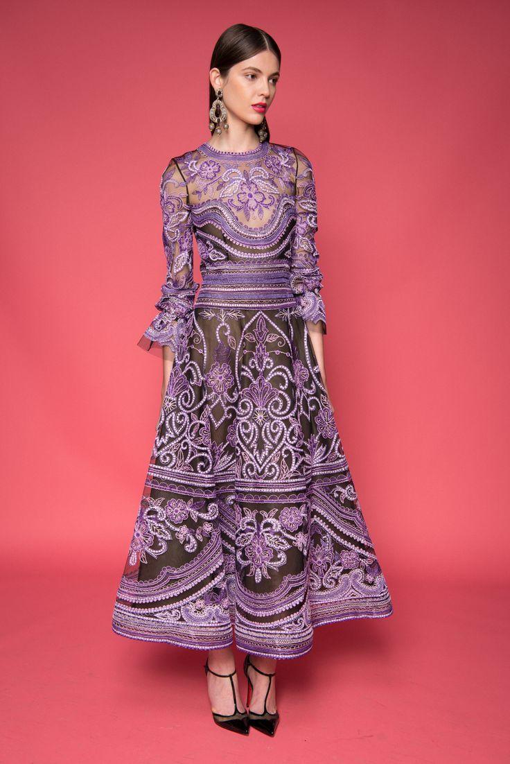 Encantador Los Precios Del Vestido De Boda Naeem Khan Cresta ...