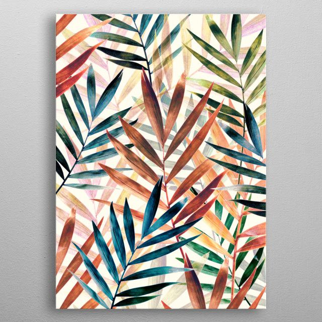 Leaves1 Nature Poster Print Metal Posters Displate Fabric Wall Art Wall Decor Stickers Diy Wall Decor