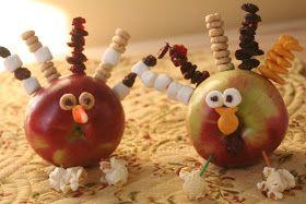 Little Page Turners: Turkey Day! Apple Turkeys