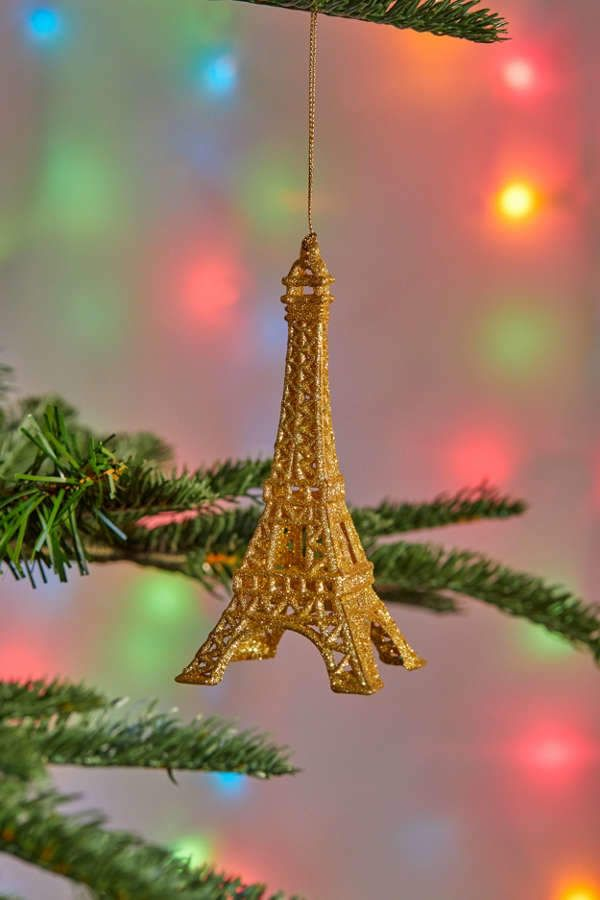 Eiffel Tower Christmas Ornament Products Pinterest Christmas