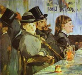 At the Café - Эдуард Мане
