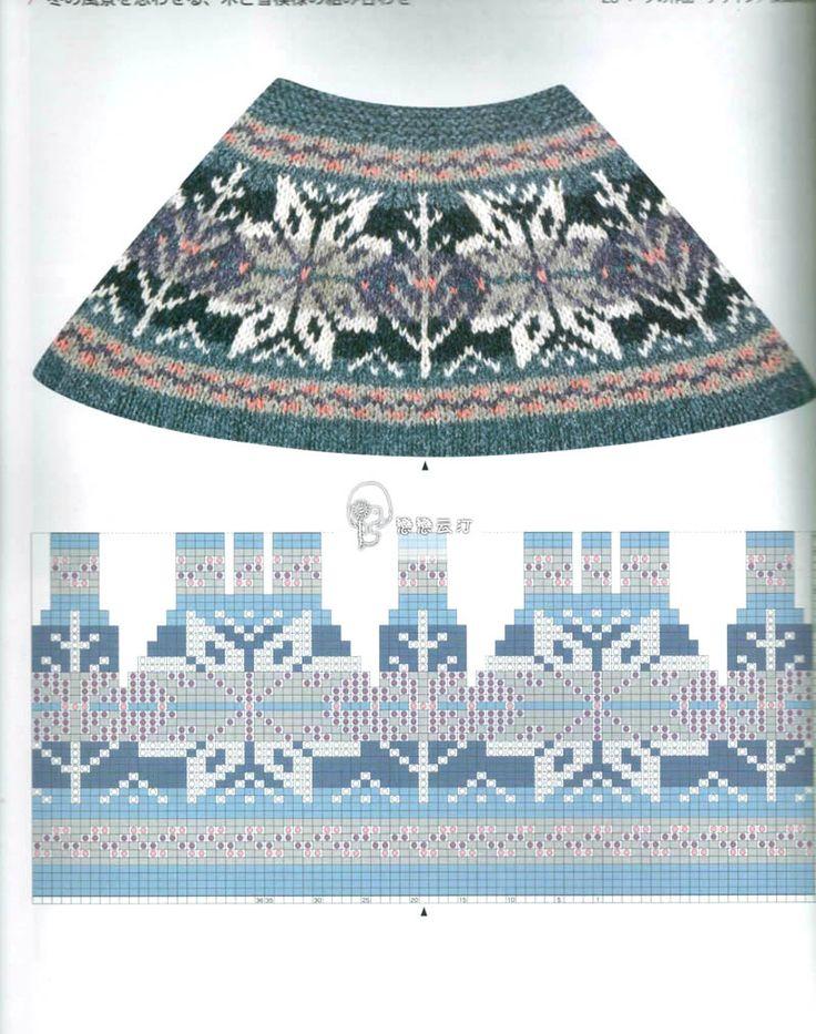 Жаккардовые узоры Fair Isle Knitting