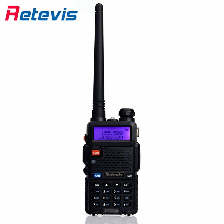 Retevis RT-5R Walkie Talkie Transceiver 5W 128CH Dual Band UHF VHF136-174/400-520MHz Portable Radio Amateur Two Way Radio Moscow