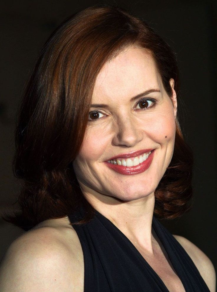 Geena Davis. Her work for women and girls is inspirational, and I wish she really WAS the President.