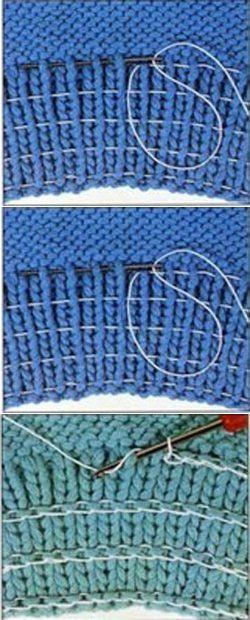 Как вшить резинку в резинку
